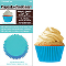 SIEGE CUPCAKE CREATIONS SOLID LIGHT BLUE (32CT)