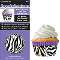 SIEGE CUPCAKE CREATIONS ZEBRA PURPLE (32CT)